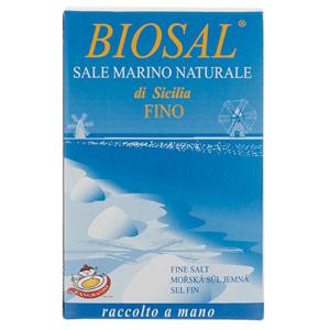ZANGRANDO S.r.l. BIOSAL Mořská sůl jemná 1 kg