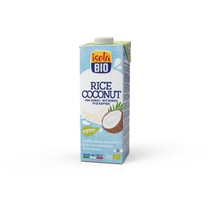 ABAFOODS S.r.l. Rýžový nápoj kokosový Isola BIO 1000 ml