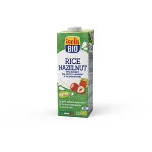 ABAFOODS S.r.l. Rýžový nápoj lískooříškový Isola BIO 1000 ml