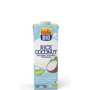 ABAFOODS S.r.l. Rýžový nápoj kokosový Isola BIO 250 ml