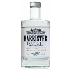 Barrister gin Dry 40% 0,7l