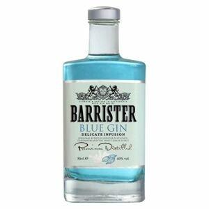 Barrister gin Barrister Blue Gin 40% 0,7l