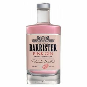 Barrister gin Barrister Pink Gin 40% 0,7l