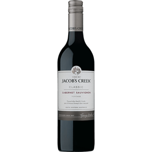 Jacob's Creek Cabernet Sauvignon 14% 0,75l