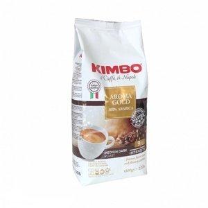 DeLonghi Kimbo Kimbo Aroma Gold 100% Arabica zrnková káva 1 kg