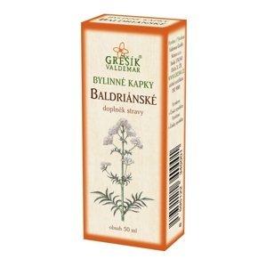 Grešík Baldriánské kapky 50 ml