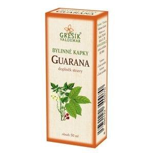Grešík Guarana, bylinné kapky 50 ml
