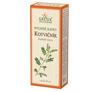 Grešík Kotvičník bylinné kapky 50 ml