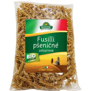 PRO-BIO, obchodní společnost s r.o. BIOLINIE celozrnné fusilli pšeničné BIO 500 g