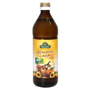 PRO-BIO, obchodní společnost s r.o. BIOLINIE Olej slunečnicový na pečení a smažení BIO 0,75 l