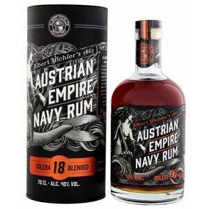 Austrian Empire Navy Rum Solera 18y 40% 0,7l